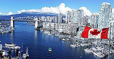 La Mayoría De La Población Los Destinos Turísticos Canadienses Para Los Estadounidenses