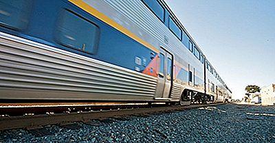 Los Viajes En Tren Más Pintorescos En Los Estados Unidos