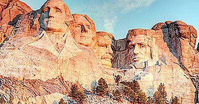 Mount Rushmore - Unika Landmärken Runt Om I Världen
