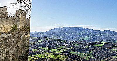 Centro Histórico Da Cidade De Mount Titano E San Marino