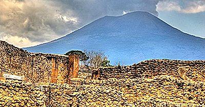 Monte Vesuvio Di Napoli, Italia