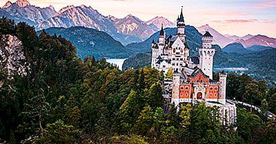 Neuschwanstein Castle, Tyskland - Unika Platser Runt Om I Världen