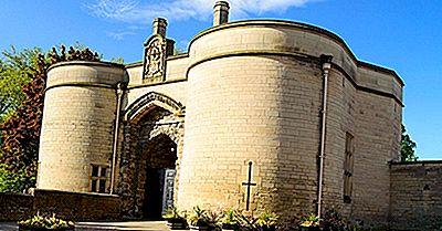 Nottingham Castle, Inglaterra: Lugares Únicos No Mundo A Visitar