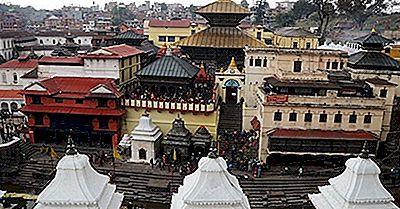 Tempio Indù Di Pashupatinath Del Nepal