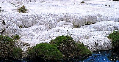 Las Terrazas Rosadas Y Blancas - Maravillas Geológicas De Nueva Zelanda