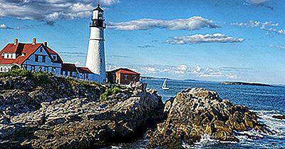 Portland Head Light, Maine - Monumentos Únicos En Todo El Mundo