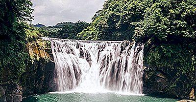 Shifen Waterfall, Taiwan: Des Lieux Uniques Dans Le Monde