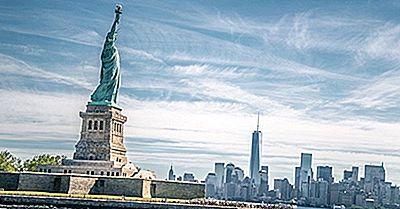 Monumento Nazionale Della Statua Della Libertà - Luoghi Unici In Nord America