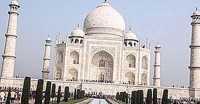 Taj Mahal, Inde - Lieux Uniques À Travers Le Monde