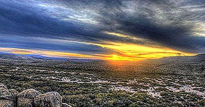 Texas - Nationalparker Och Andra Naturliga Destinationer I USA