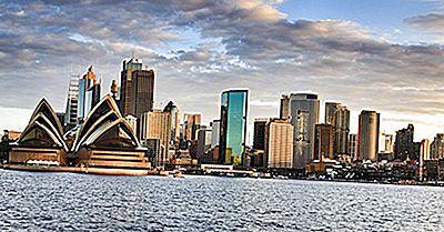Principais Países De Origem Para Turistas Internacionais Para A Austrália