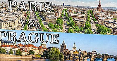 Showdown Viagem: Paris Vs. Praga