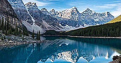 Valley Of The Ten Peaks, Canadá: Lugares Únicos En El Mundo Para Visitar