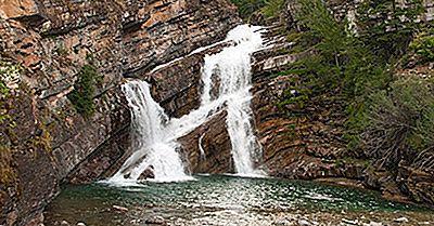 Hva Er Den Unike Om Cameron Falls Of Alberta?
