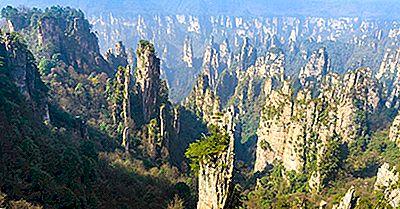 Vad Är Unikt Om Kinas Tianzi Mountain?