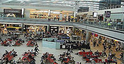 Welches Sind Die Am Meisten Befahrenen Flughäfen In Großbritannien Durch Den Personenverkehr?