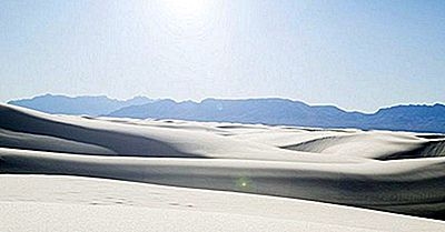 White Sands National Monument Of New Mexico