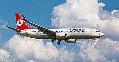 Verdens Største Flyselskaber Efter Antal Lande, Der Serveres