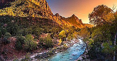 Zion National Park, Utah - Lugares Únicos Ao Redor Do Mundo