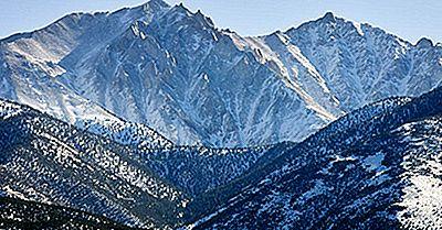Le 10 Vette Più Alte Del Nevada