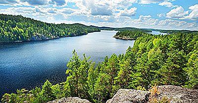 De 10 Största Sjöarna I Finland