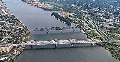 De 10 Længste Floder I Indiana