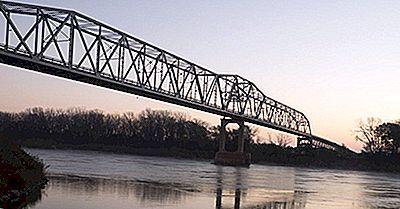 De 10 Längsta Floderna I Nebraska