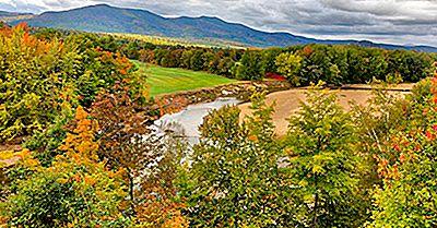 Les 10 Plus Longues Rivières Du New Hampshire