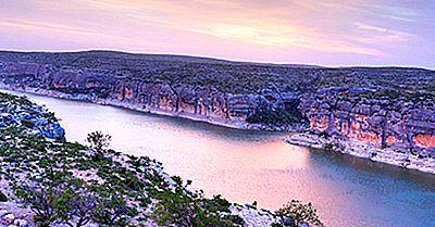 Les 10 Plus Longues Rivières Du Texas