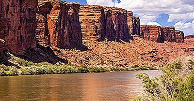 De 10 Længste Floder I Utah