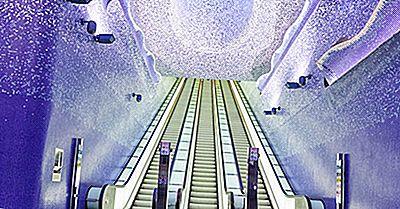 10 Des Stations De Métro Les Plus Intéressantes Au Monde