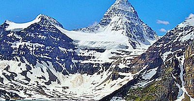 I 10 Picchi Più Alti In Alberta, Canada