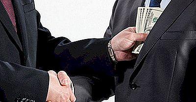 20 Länder, In Denen Bestechung Im Geschäftsleben Üblich Ist