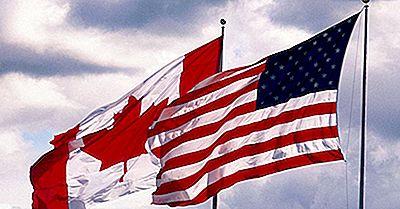 La Vue Parallèle 49Th: Comment Le Canada Et Les États-Unis Se Sont-Ils Divisés De Cette Façon?