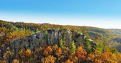 Los 7 Monumentos Naturales Nacionales De Kentucky