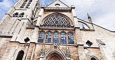 Edificios Arquitectónicos Del Mundo: La Iglesia De Saint-Séverin