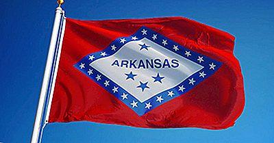Bandiera Dello Stato Dell'Arkansas