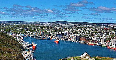 Le Migliori Città Da Vivere A Terranova E Labrador, In Canada
