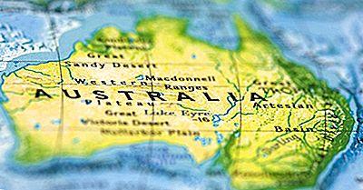 Los Mayores Territorios Y Territorios Australianos Por Área Terrestre