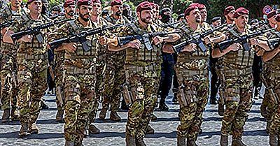 Die Größten Stehenden Armeen Der Europäischen Union