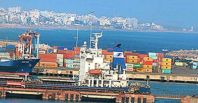 De Mest Trafikerade Lasthamnarna I Indien