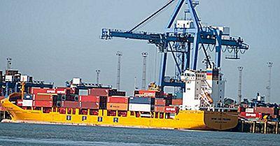 De Mest Trafikerade Lasthamnarna I Storbritannien