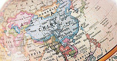 Los Países De Asia Por Tamaño