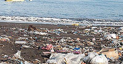 Países Que Ponen La Mayor Cantidad De Desechos Plásticos En Los Océanos