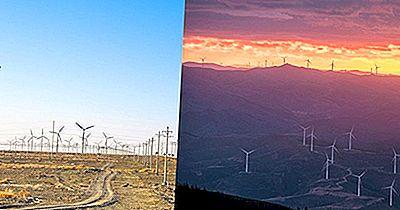 Países Com A Mais Alta Capacidade Instalada De Energia Eólica