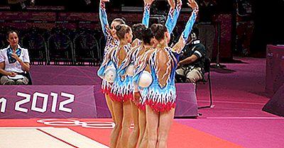 Länder Mit Den Weiblichen Olympischen Gymnastischen Goldmedaillen