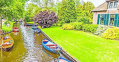 ¿Sabías Que La Aldea De Giethoorn, Países Bajos No Tiene Carreteras?