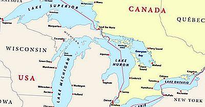 De Åtta USA-Staterna Ligger I Great Lakes Region
