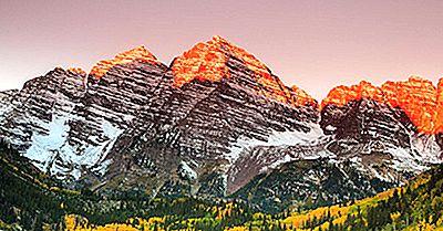 Os Picos Mais Altos Das Montanhas Dos Alces