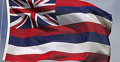 Bandeira Do Estado Do Havaí